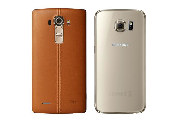 Samsung Galaxy S6 vai LG G4 - lippulaivat vertailussa