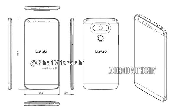 LG G5:n ulkonäkö paljastui?