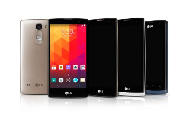 LG:ltä neljä keskihintaista Lollipop-älypuhelinta