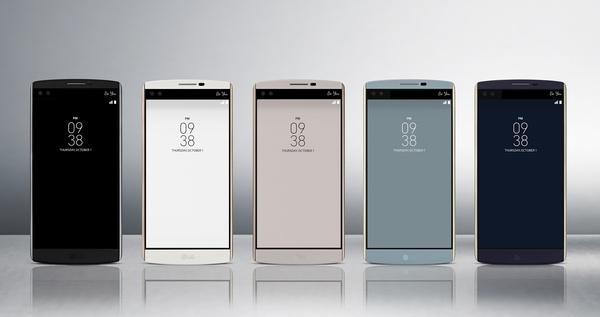 LG:n tuplanäyttöinen V10-puhelin tulee Suomeen