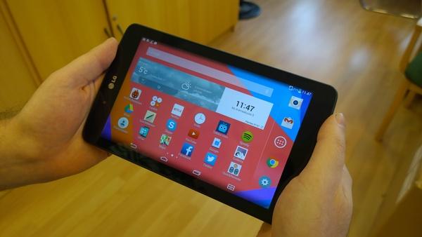 Android Lollipop saapuu LG:n tableteille huomenna
