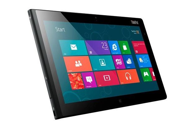 Lenovon tabletti Windows 8 Pro -järjestelmällä ja näppäimistötelakalla 799 dollaria