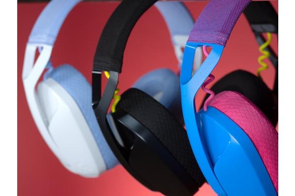 Logitech julkaisi langattomat ja värikkäät Logitech G435 LIGHTSPEED -pelikuulokkeet