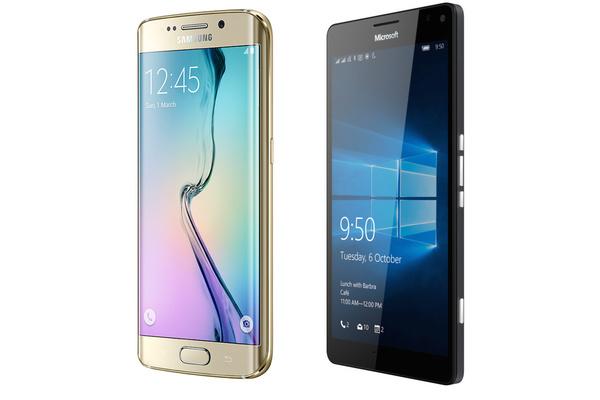 Vertailussa: Lumia 950XL ja Galaxy S6 edge+