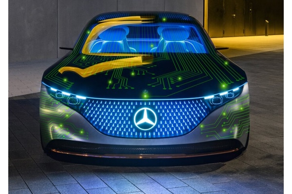 Nvidia to develop a new AI for your Merdeces-Benz