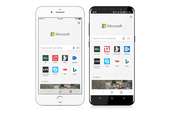 Microsoft brings Edge browser to Android and iOS