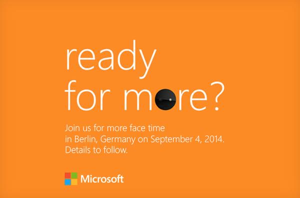 Microsoft esittelee seuraavat Lumia-puhelimet 4. syyskuuta