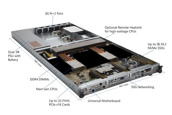 Microsoft haastaa Intelin – Esitteli ARM-pohjaisen palvelinkoneen