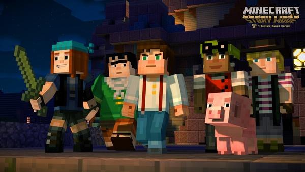 Telltalen odotettu Minecraft: Story Mode julkaistiin Androidille ja iOS:lle
