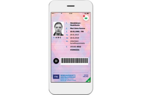 Digitaalinen ajokortti tulee saataville kesällä