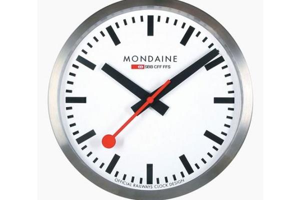 Apple ja Sveitsin rautatiet sopimukseen kellotaulun käytöstä