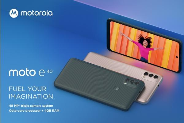 Motorolalta edullinen moto e40