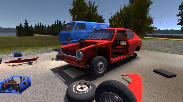 Kotimainen My Summer Car -autokohelluspeli sai Steam Greenlightilta julkaisuluvan