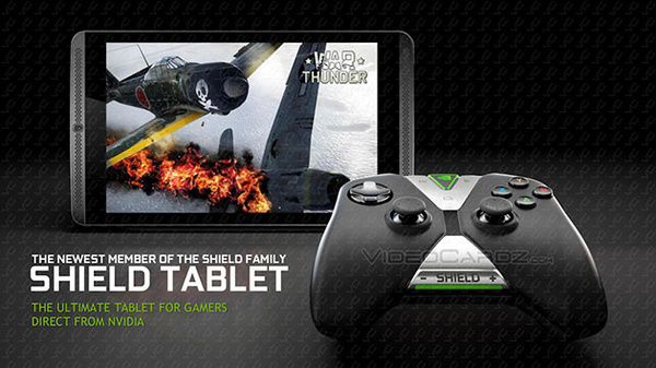 Here is the new Nvidia SHIELD tablet