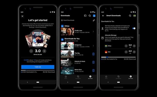 Netflixin uusi ominaisuus lataa mobiililaitteille automaattisesti katsottavaa katseluhistorian perusteella