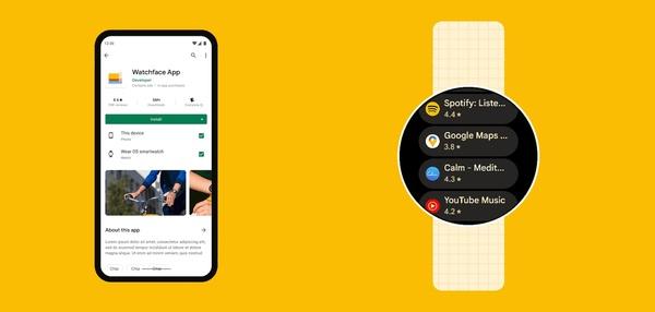 Google helpottaa Wear OS -sovellusten löytämistä Google Play -kaupasta