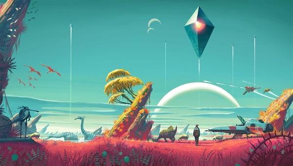 Vuoden odotetuimpiin peliuutuuksiin kuuluva No Man's Sky julkaistaan tänään PC:lle