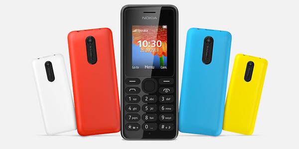 Nokia esitteli uuden matkapuhelimen: Nokia 108