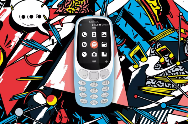 Nokia 3310:stä julkaistiin Android-pohjainen versio