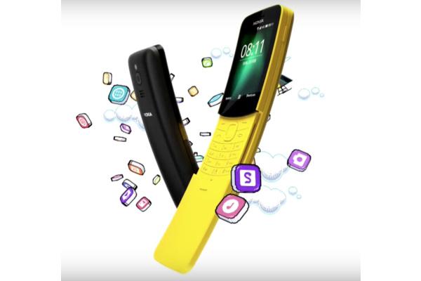 Yllätys Nokialta – Banaanipuhelin tekee paluun