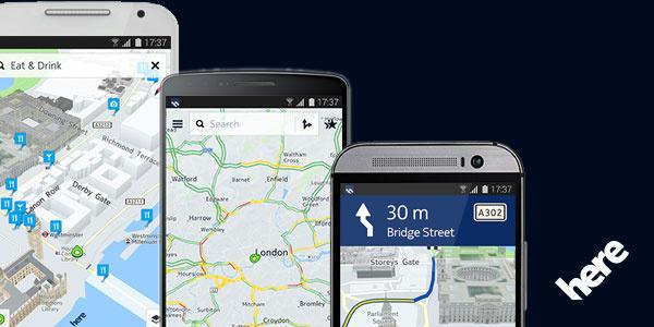 Nokian HERE-kartat toimivat nyt myös Android Lollipopissa