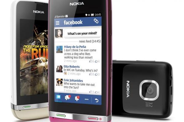 Nokia julkaisi kolme uutta Asha-puhelinta