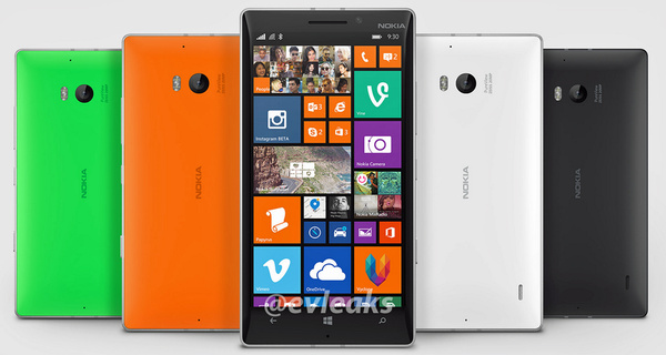 Vuotokuvassa: Nokia Lumia 930
