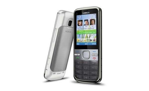 Nokia julkisti C5-puhelimen, uudet mallinimet