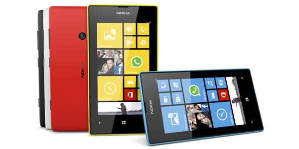 Microsoft esti Windows 10:n asetamisen Lumia 520:lle