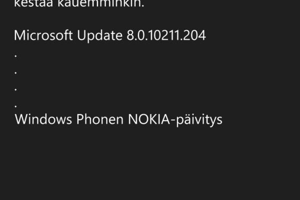 Windows Phone 8 -päivitys uusille Lumioille tuli jakoon
