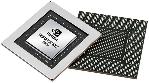 Nvidialta GTX 980M ja 970M -näytönohjaimet kannettaviin