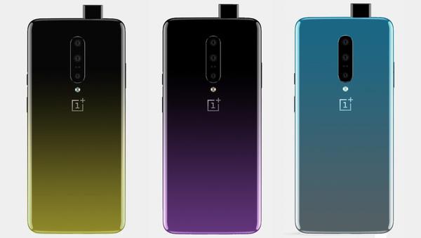 OnePlus 7:stä uusia kuvia – Näissä väreissä puhelin tulee myyntiin