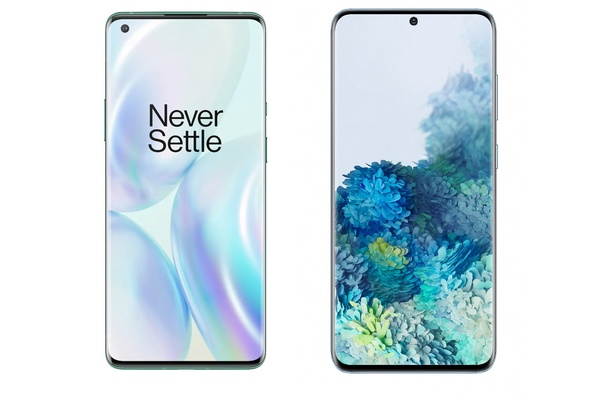 Vertailu: OnePlus 8 Pro vs Galaxy S20 / Galaxy S20 Plus