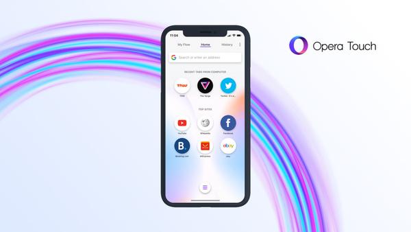 Opera Touch saapui iPhonelle – Sisältää mainoseston