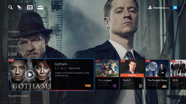 Sony PlayStation Vue now available on Android TV