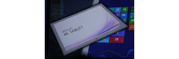 20-tuumainen Windows 8 -tabletti 4K-resoluutiolla on totta