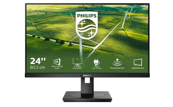 Philips Monitors B Line -mallisto sai erittäin ympäristöystävällisen Philips 242B1G -näytön
