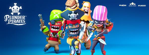 Rovio julkaisi iOS:lla miljoonia latauksia keränneen Plunder Piratesin Androidille