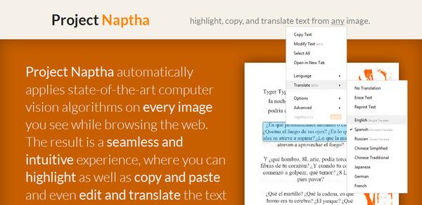 Chrome-selaimen lisäosa sallii tekstin kopioimisen kuvista