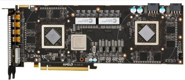 Näytönohjainvalmistajat suunnittelevat Radeon HD 7970 X2 -mallia