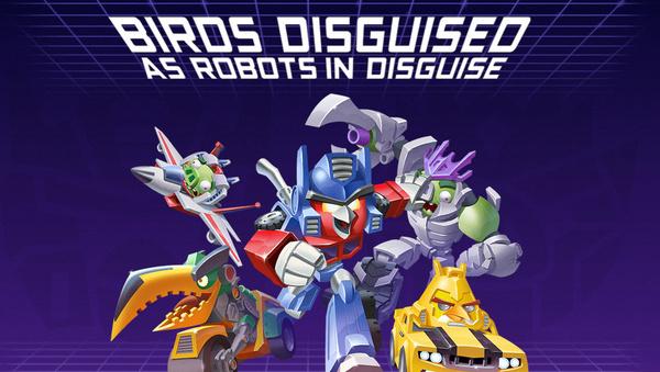 Rovion tuleva Angry Birds Transformers -peli kokeilee uutta pelimekaniikkaa