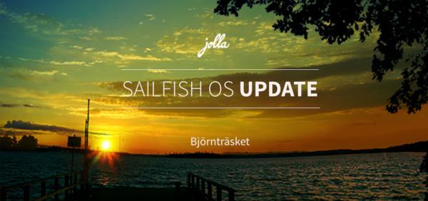Sailfishin Björnträsket-päivityksen jakelu alkoi