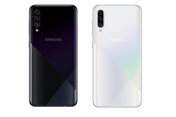 Samsung julkaisi Galaxy A30s ja Galaxy A50s puhelimet: 4000 mAh akku, 6.4 näyttö, sormenjälkilukija näytön alla