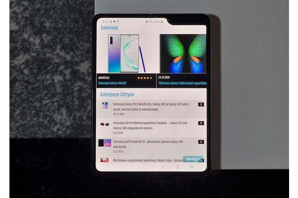 Samsung on aloittanut Android 10 -päivityksen jakelun Galaxy Foldille