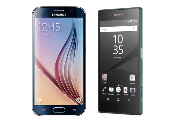 Vastakkain Sony Xperia Z5 ja Samsung Galaxy S6, kumpi valita?