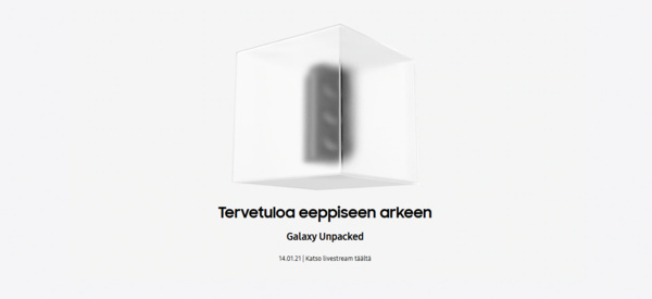 Samsung järjestää Unpacked 2021 -tilaisuuden 14. tammikuuta