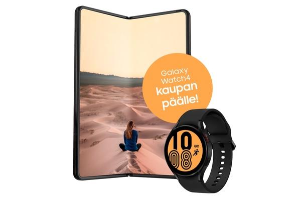 Samsungin tuoreiden taittuvanäyttöisten puhelimien ostajille tarjotaan kaupan päälle televisiota, kannettavaa tai älykelloa