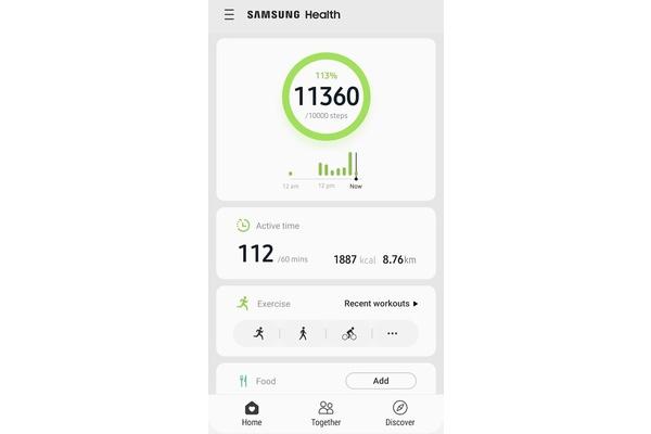 Samsung Health -sovelluksella voi nyt seurata kuukautiskiertoa ja sovellus tukee tummaa teemaa