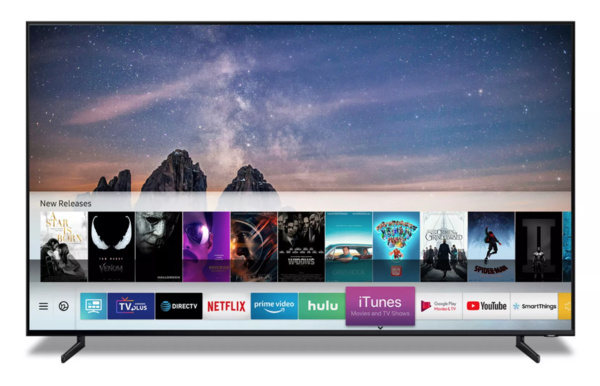 Yllätys uutinen – iTunes tulee Samsungin älytelevisioihin