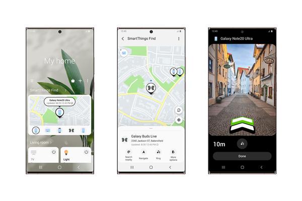 Samsung julkisti SmartThings Find -palvelun, joka auttaa paikantamaan muita Galaxy-laitteita